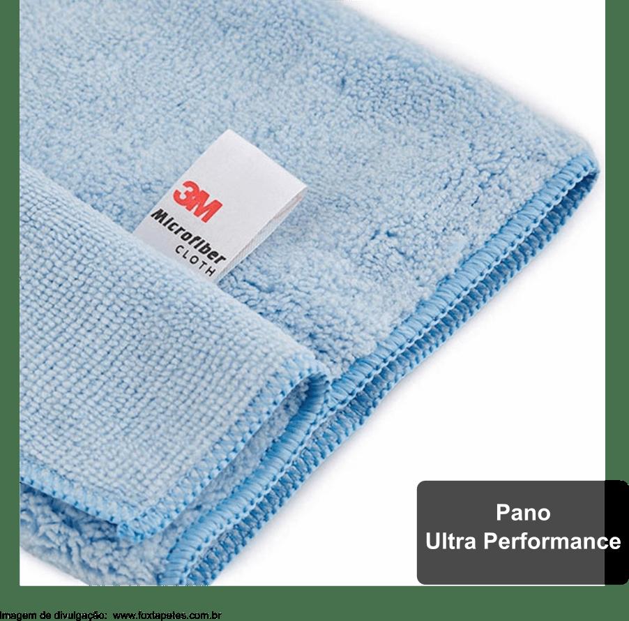 Pano de Microfibra Ultra Performance 3M - 32x36 - Azul
