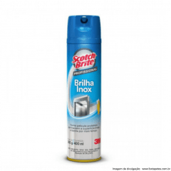 Brilha Inox 3M - SCOTCH-BRITE - 400ML
