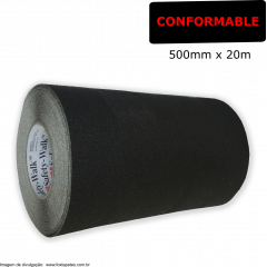 Fita Antiderrapante Safety Walk 3M : Conformable - Preto - 500mm x 20m