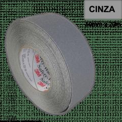 Fita Antiderrapante Safety Walk 3M * Uso Geral - Cinza - 50mm x 20m