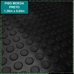 Piso Moeda Kapazi - Base 2mm - 1,30 x 0,65m - Preto